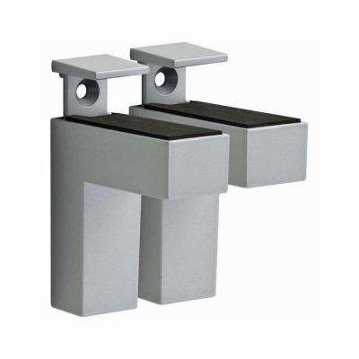 ELIOT 3/16 in. - 1-1/2 in. Adjustable Shelf Bracket in Stainless Steel