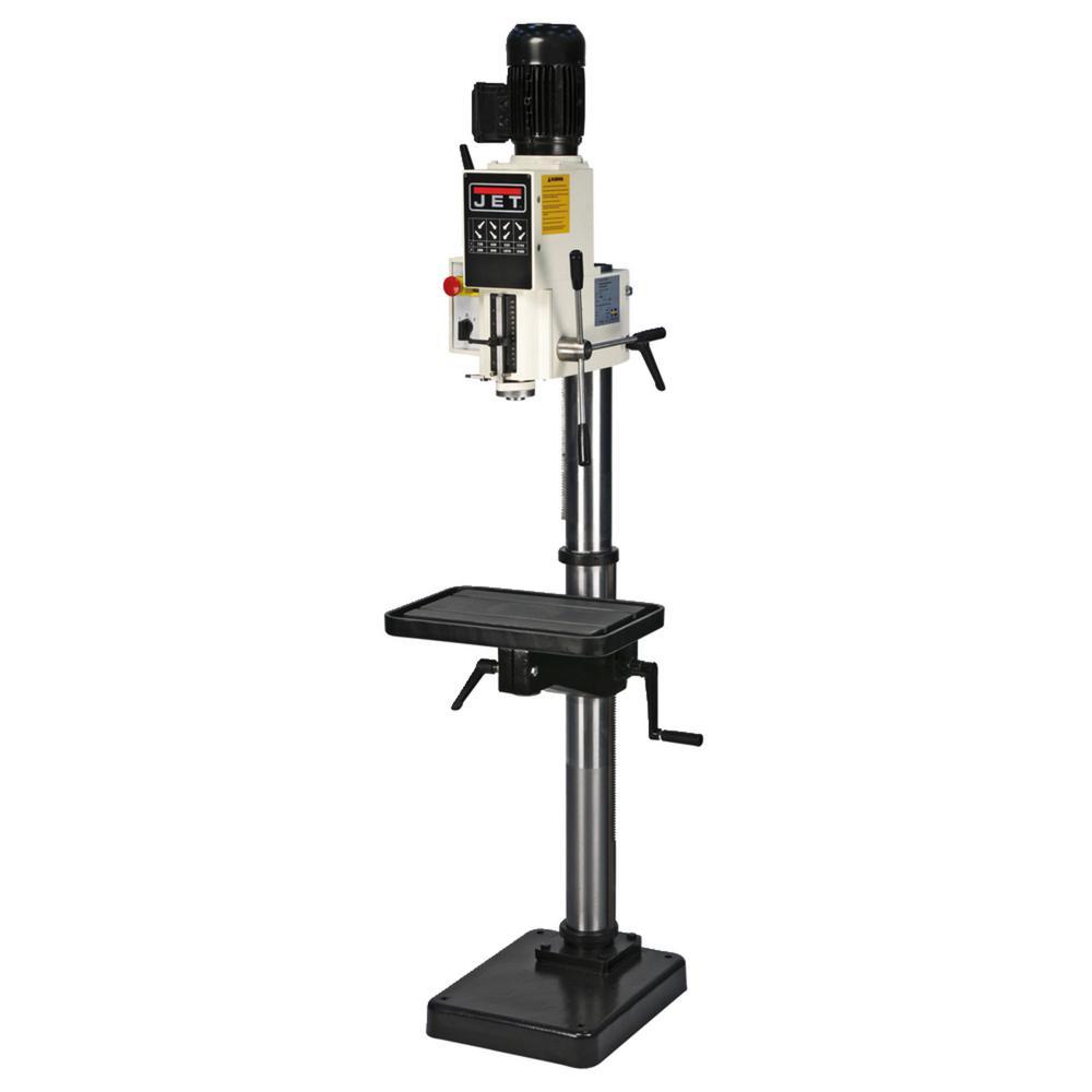 JET J-A2608-4, 20 in. Gear Head Drill Press 440-Volt, 3 pH