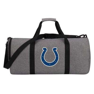 Colts Wingman 10 in. Heathered Gray Duffle Bag