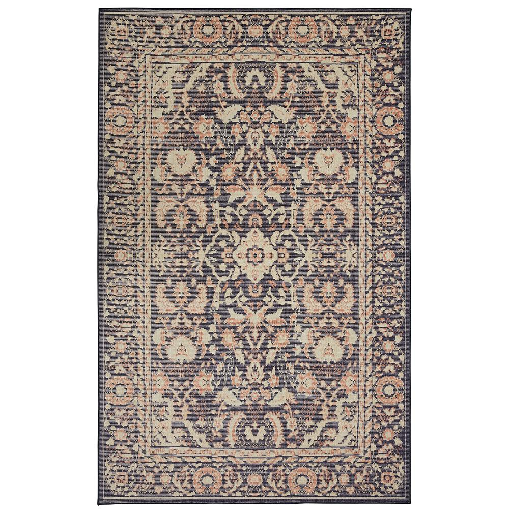 Damak Indigo 8 ft. x 10 ft. Indoor/Outdoor Area Rug