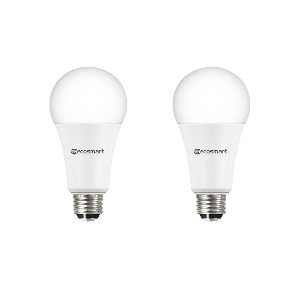 Ecosmart 40 60 100 Watt Equivalent A21 3 Way Led Light Bulb