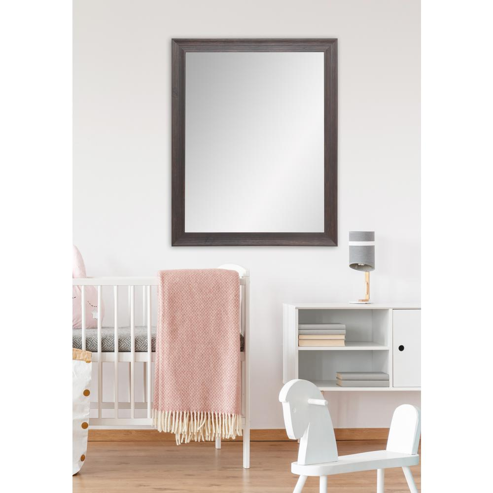 Wood wall mirrors Oversized Urban Wood Wall Framed Mirror Home Depot Brandtworks New Interior 32 In 38 In Urban Wood Wall Framed