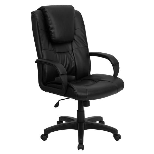 Flash Furniture Black Office/Desk Chair CGA-GO-3750-BL-HD