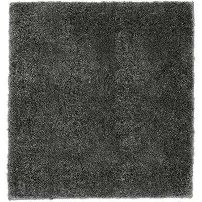 Ethereal Hot Coffee 8 Ft. X 8 Ft. Square Area Rug
