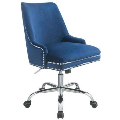 Amelia Blue Plywood Office Chair