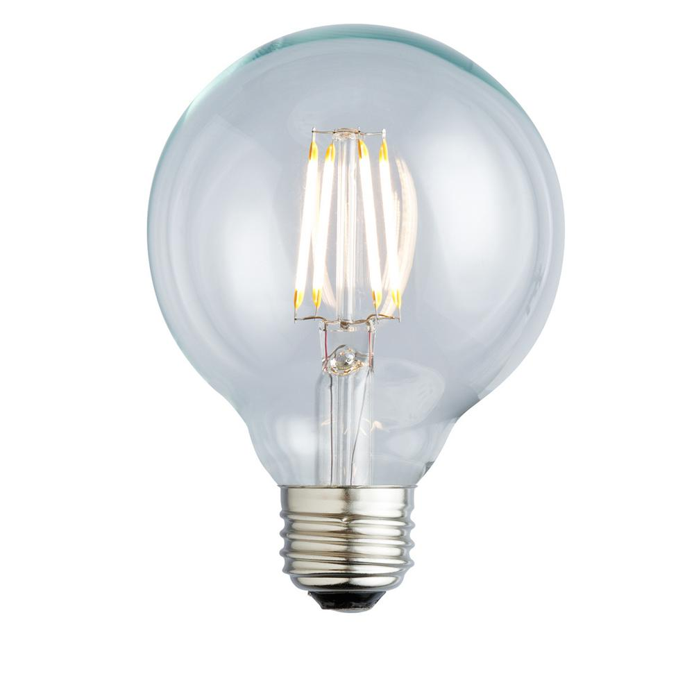Sylvania 40-Watt Incandescent G25 Clear Globe Light Bulb