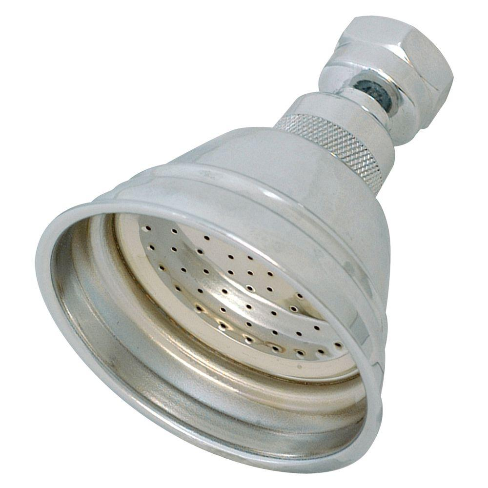 EZ-FLO 1-Spray 3 in. Showerhead in Chrome