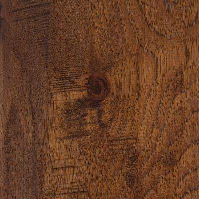 Distressed Barrett Hickory 3/8 in.T x 3-1/2 in. 6-1/2in. W Varying Length Click Lock Hardwood Floor (26.25 sq.ft./case)