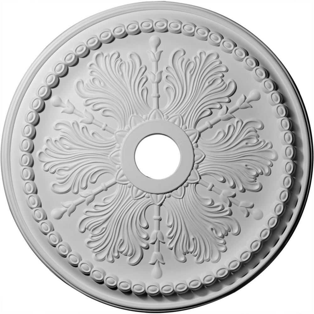 27-1/2 in. OD x 4 in. ID x 1-1/2 in. P (Fits Canopies up to 4 in.) Winsor Polyurethane Ceiling Medallion