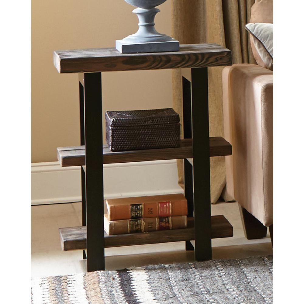 Alaterre Furniture Pomona Rustic Natural End Table