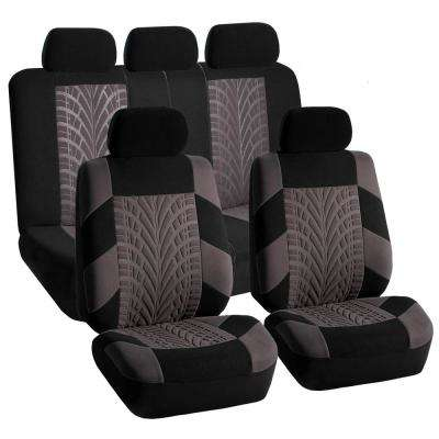 Polyester 47 in. x 23 in. x 1 in. Travel Master Full Set Seat Covers
