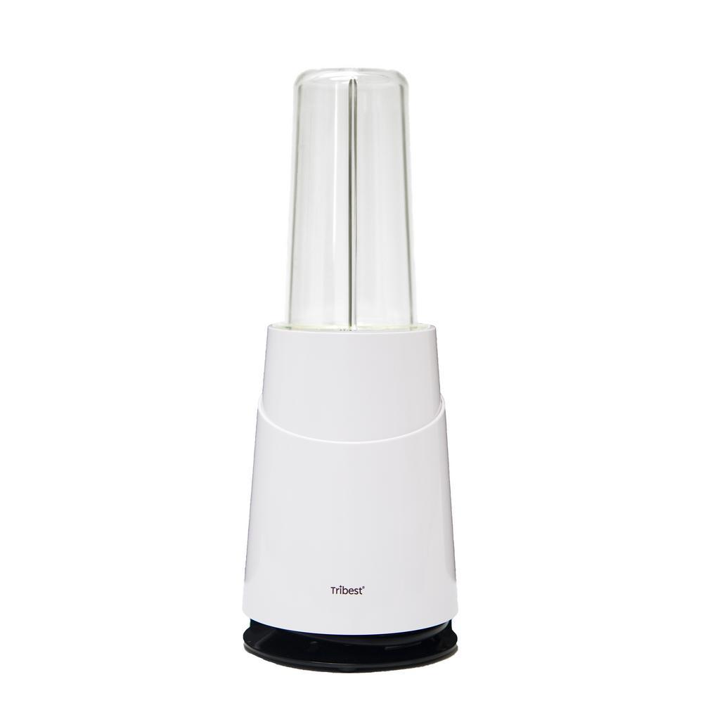 Mason Jar Ready Personal 24 oz. 1-Speed White Blender 2-Basic Pack