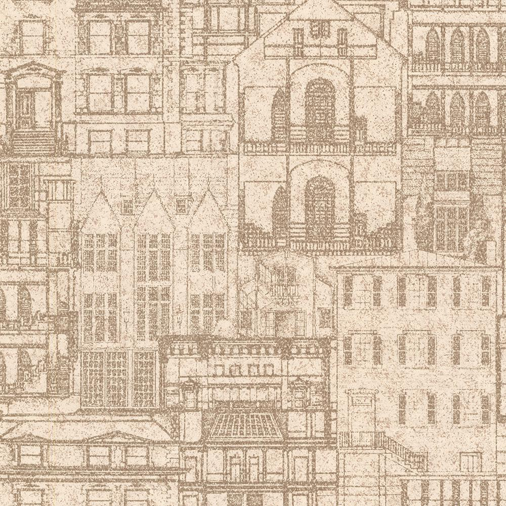 Beacon house 564 sq ft facade sand vintage blueprint wallpaper facade sand vintage blueprint wallpaper malvernweather Image collections