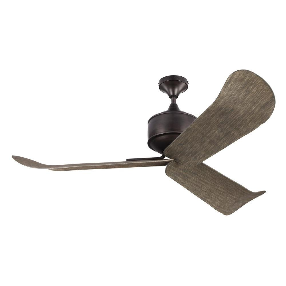 Monte Carlo Dylan 56 In Outdoor Aged Pewter Ceiling Fan
