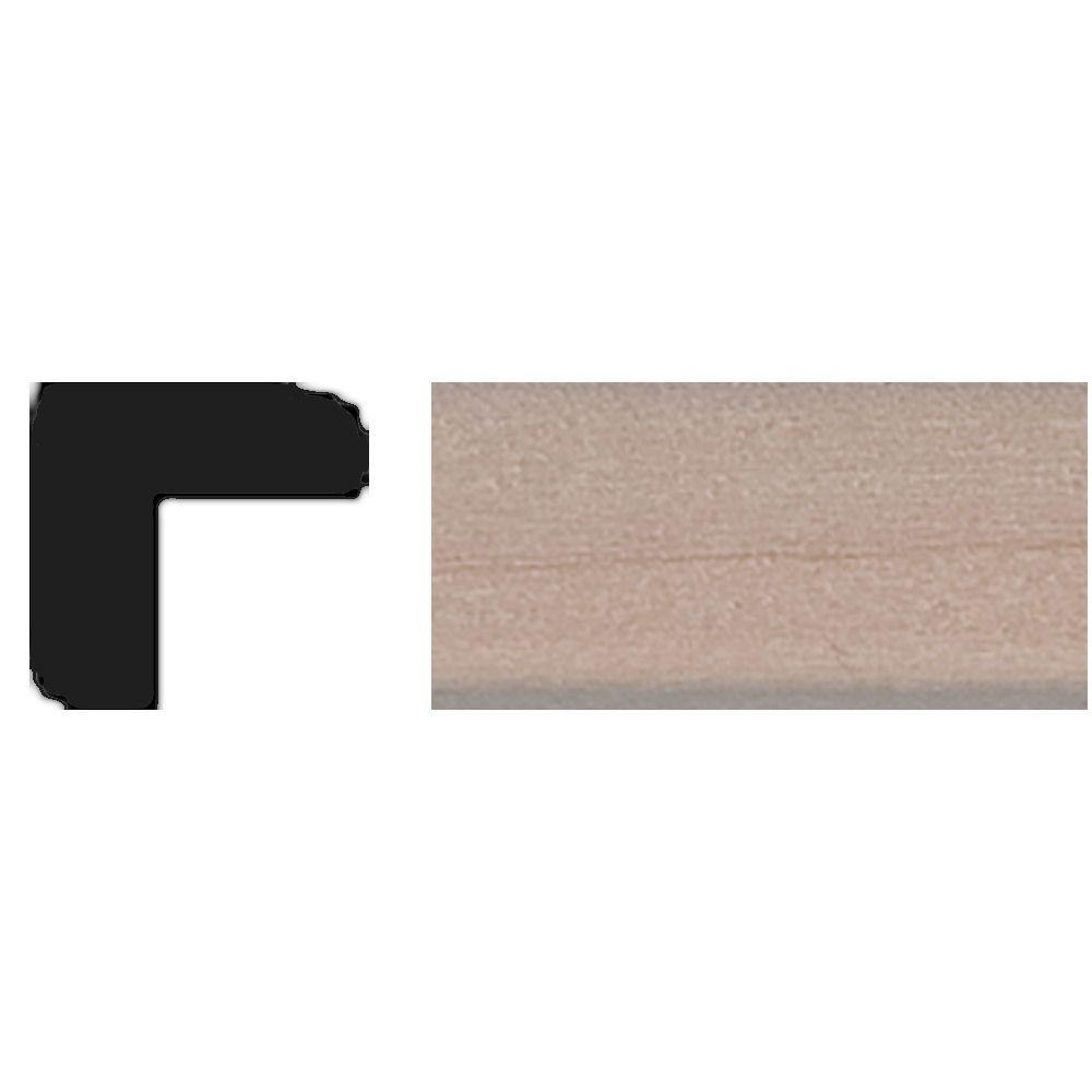 House of Fara TT09 - 3/8 in. x 3/8 in. x 4 ft. Basswood Outside Corner Tinytrim Moulding