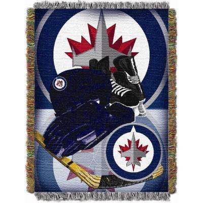 Winnipeg Jets Multi Color HIA Tapestry Throw