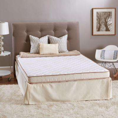 Sleep Luxury Twin-Size High Density Foam Mattress