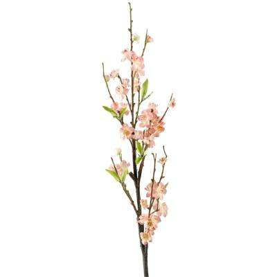 Indoor Light Pink Cherry Blossom Branch (Set of 3)