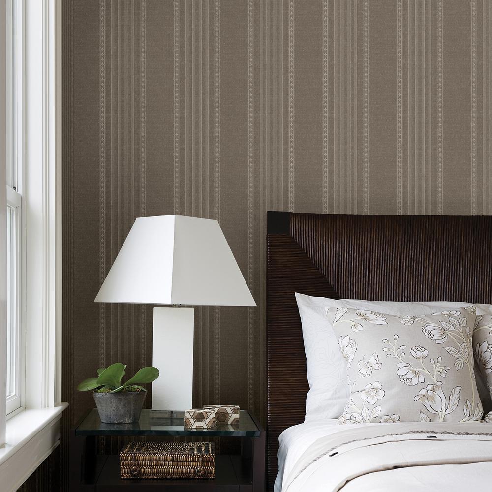 Jacquard Wallpaper Living Room