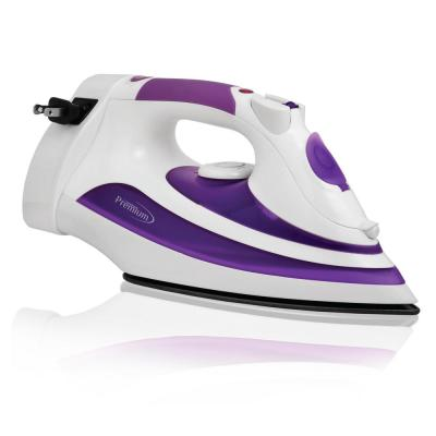 Steam and Dry Iron with Retractable Cord