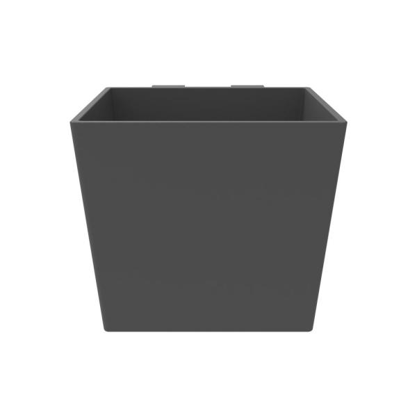 7 in. W x 6 in. H Slate Recycled Vertical Planter (3-Pack)