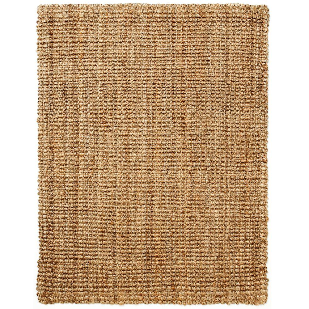 Anji Mountain Everest Natural Jute 5 ft. x 8 ft. Area Rug