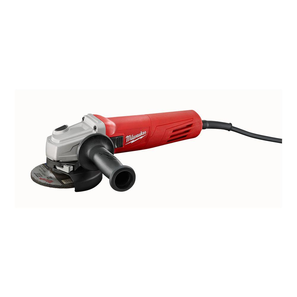 Milwaukee 11 Amp 4 5 In Small Angle Grinder With Slide
