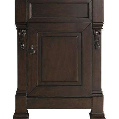 Brookfield 26 in. W Bathroom Single Vanity Cabinet Only in Burnished Mahogany