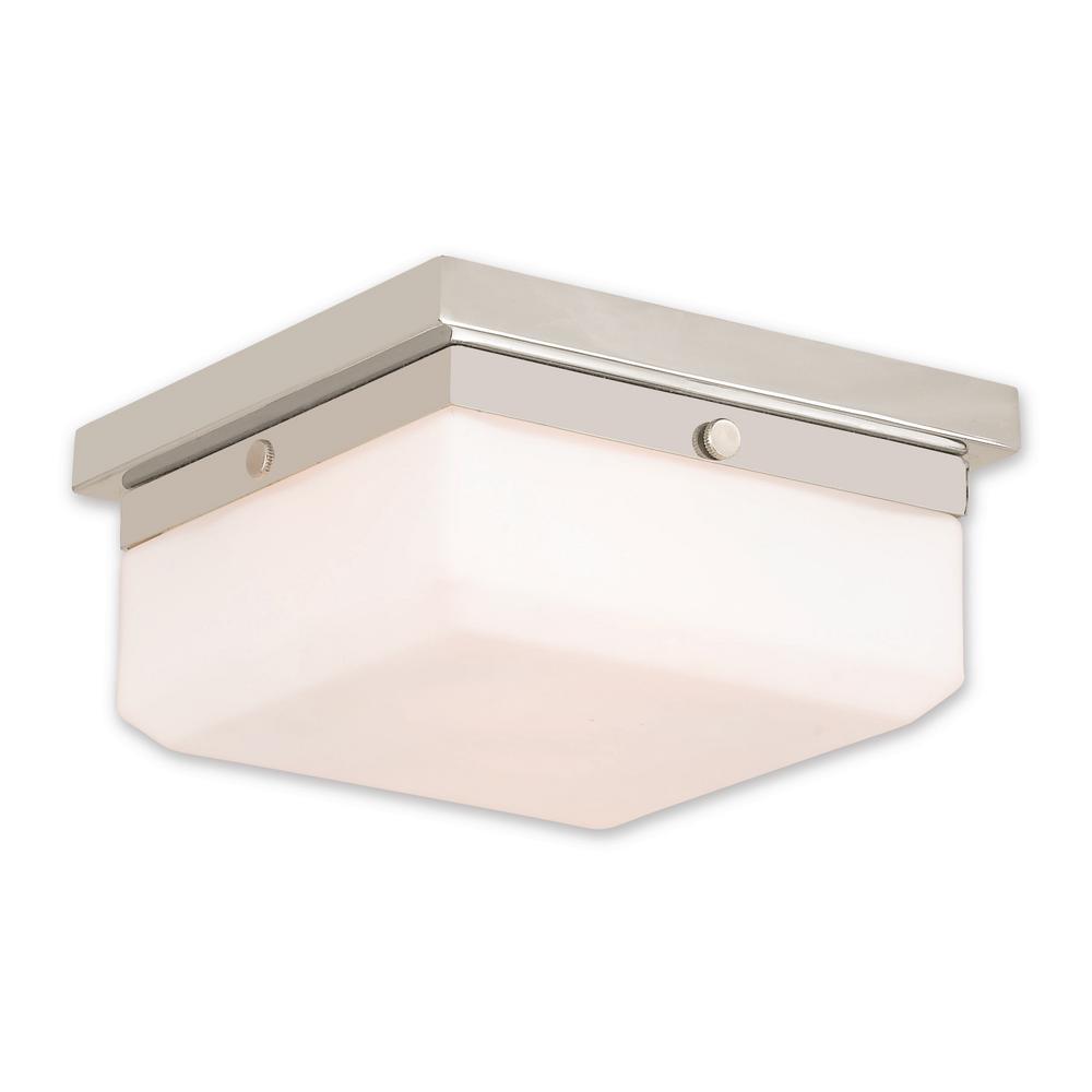 Allure 2-Light Polished Nickel ADA Sconce
