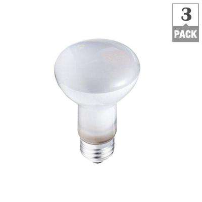 DuraMax 45-Watt Incandescent R20 Dimmable Flood Light Bulb (3-Pack)