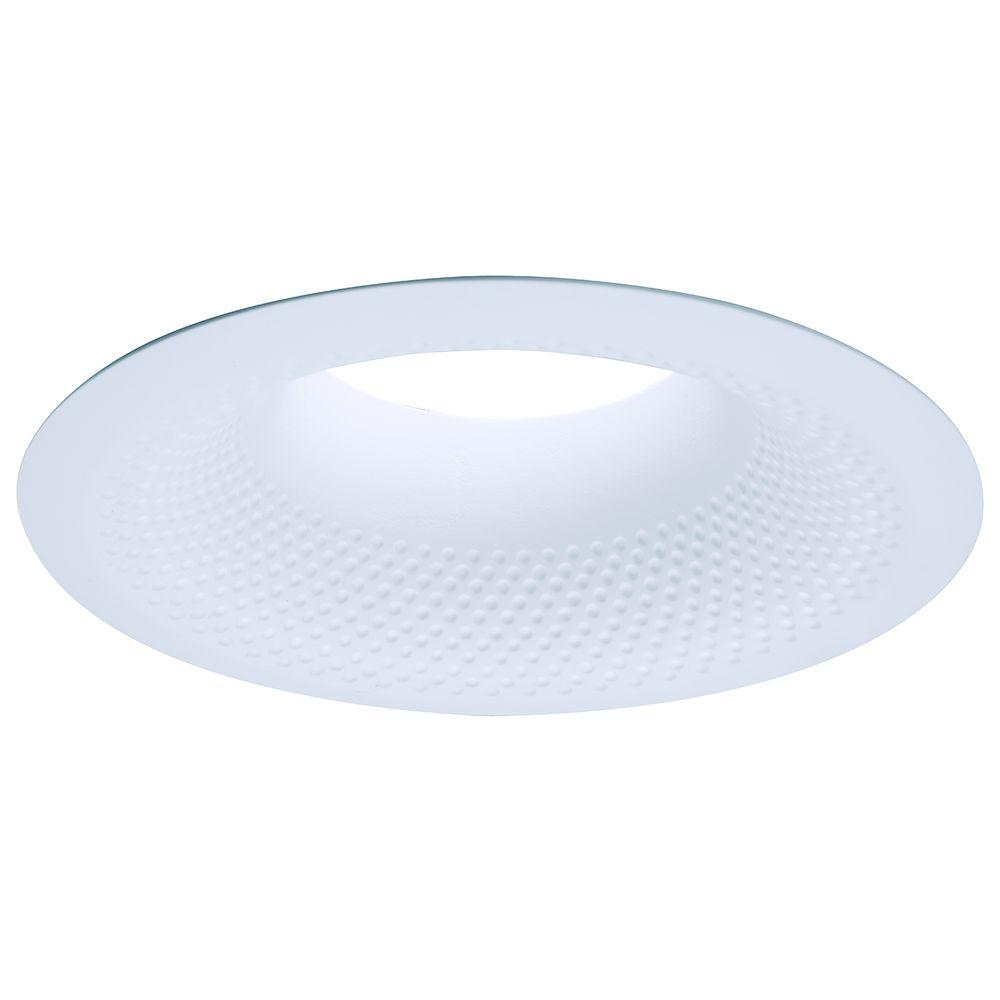 Halo E26 Series 6 in. White Recessed Ceiling Light Perftex Baffle ...