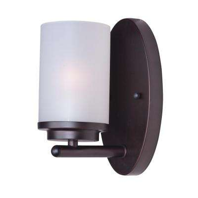 Corona 1-Light Oil Rubbed Bronze Wall Sconce