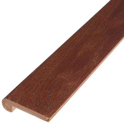 Saddle 3/8 in. Thick x 2-3/4 in. Wide x 78 in. Length Engineered Hardwood Flush Stair Nose Molding
