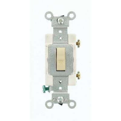 20 Amp Preferred Toggle Switch, Ivory