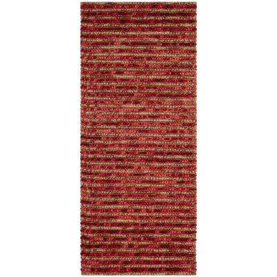 Bohemian Red/Multi 3 ft. x 6 ft. Runner Rug