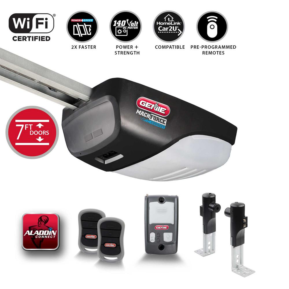 MachForce Connect 2 HP Premium Screw Drive Smart Garage Door Opener