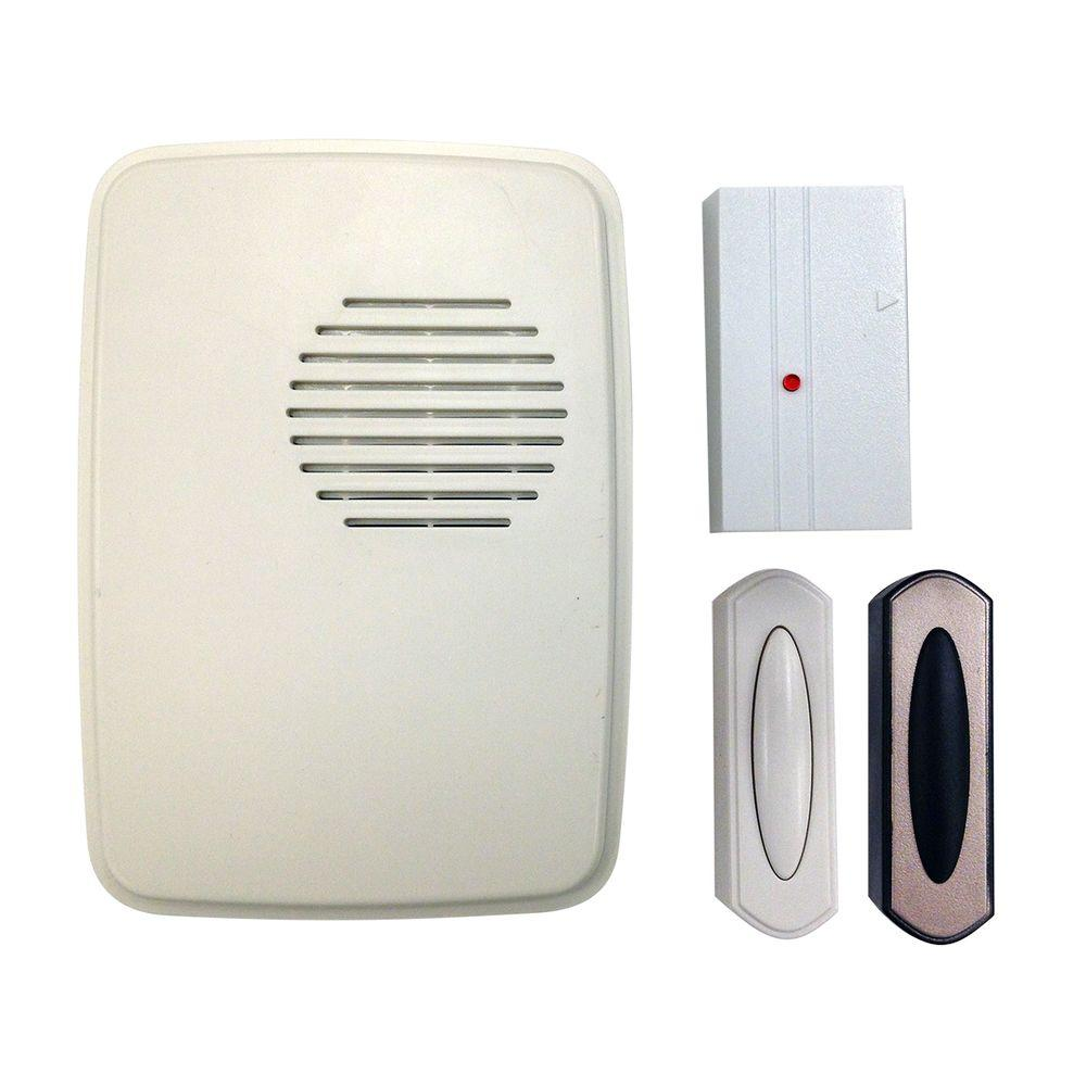 Hampton Bay Wireless Door Bell And Mail Reminder Kit HB