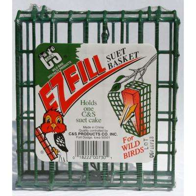EZ Fill Suet Basket Bird Feeder