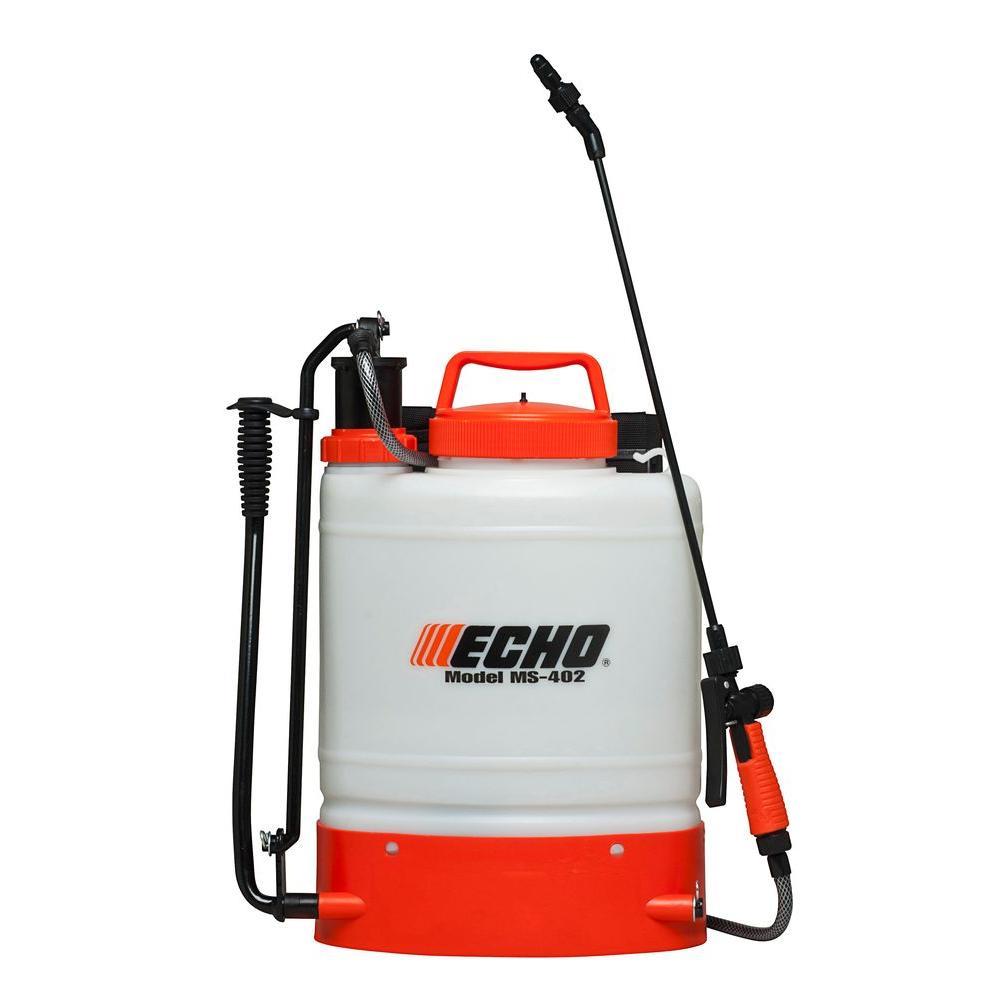 ECHO 4 Gal. Internal Piston-Pump Back Pack Sprayer was $99.63 now $64.98 (35.0% off)