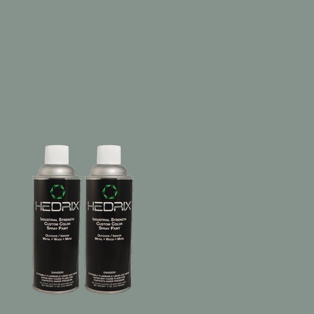 Hedrix 11 oz. Match of PIC-32 Tropical Gloss Custom Spray Paint (2-Pack)