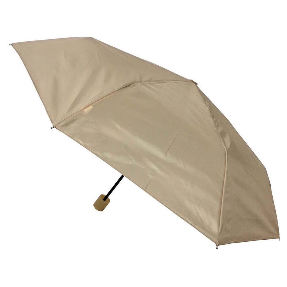 Kingstate 42 in. Arc Canopy Mini Manual Umbrella, Khaki