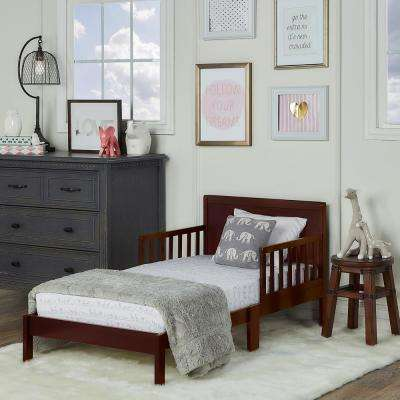 Brookside Espresso Toddler Adjustable Bed