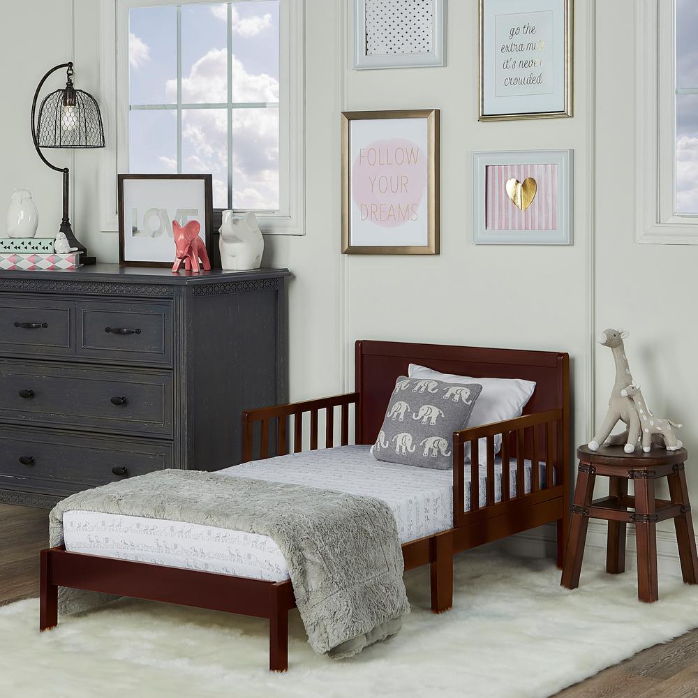 Brookside Espresso Toddler Adjustable Bed