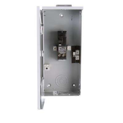 200 Amp 2-Space 2-Circuit Main Breaker Outdoor Load Center