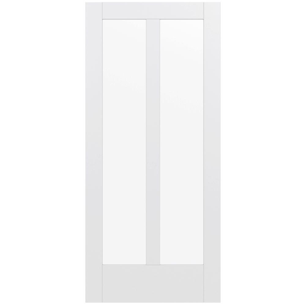 36 in. x 80 in. MODA Primed PMC1024 Solid Core Wood