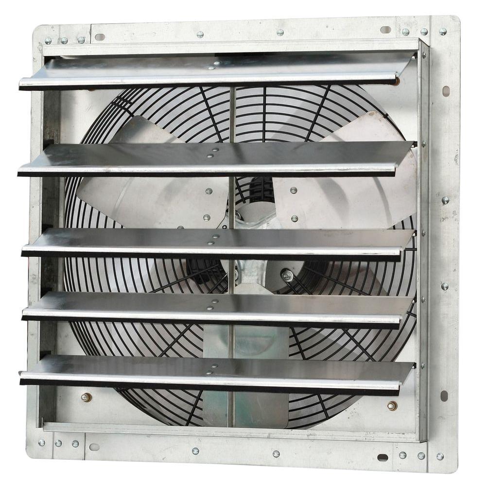 1750 CFM Power 18 in. Variable Speed Shutter Exhaust Fan