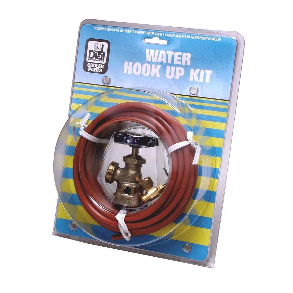 Cooler swamp hook water up