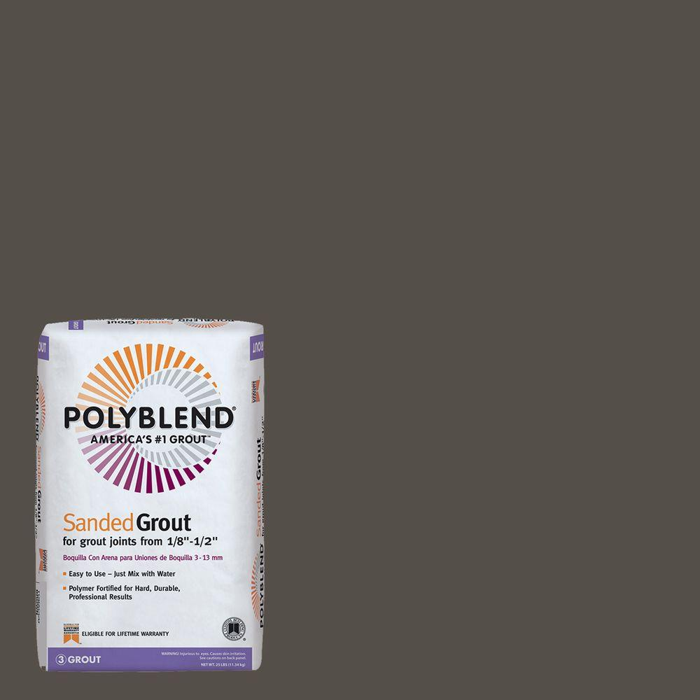 custom building products polyblend 540 truffle 25 lb sanded grout pbg54025 the home depot. Black Bedroom Furniture Sets. Home Design Ideas