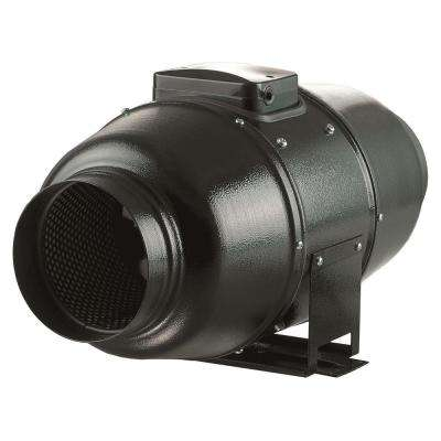 880 CFM Power 10 in. Energy Efficient Metal Mixed Flow Inline Duct Fan