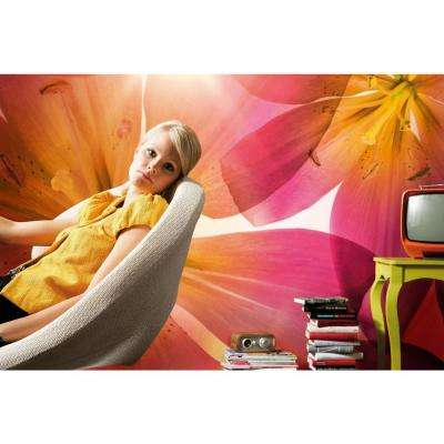 100 in. x 145 in. Summer Sun Wall Mural